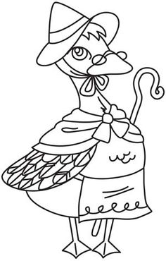 Nursery Rhymes - Mother Goose | Urban Threads: Unique and Awesome Embroidery Designs