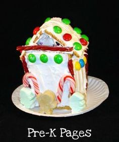 Gingerbread houses to go along with Gingerbread Baby