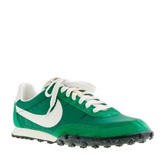 Nike Vintage Collection Waffle Racer Sneakers in Pine Green