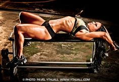 Female Bodybuilding Motivational Clip - A Goal Is A Dream With A Deadline