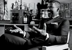 Denzel Washington in the October issue of GQ