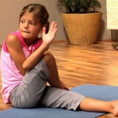 Activity of the Week: Top 6 Kids Yoga Poses for Bedtime: A Calming Sequence- pinned by @PediaStaff – Please Visit  ht.ly/63sNt for all our pediatric therapy pins