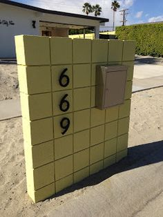 Mailbox ideas on pinterest mail boxes surfboard and mid century - Deco moderne woning ...