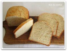 Bloc de recetas: Como hacer pan en panificadora. Receta del pan de ...