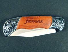Custom Personalized Engraved Pocket Knife