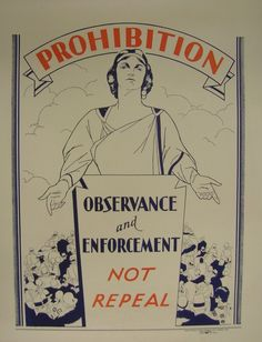 1920s prohibition posters