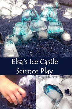 Elsa's Ice Castle Science Play!!