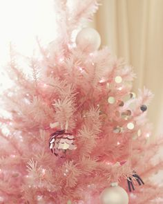 xmas trees, christmas holidays, homemade gifts, christma tree, pink tree, new years eve, holiday gifts, pink christmas trees, pretti