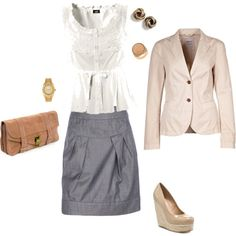 cloth, style, skirts, semi casual work outfit, summer work outfits