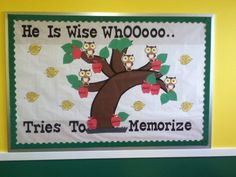 He who is wise tries to memorize