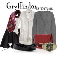 Gryffindor, created by #lalakay on polyvore.com