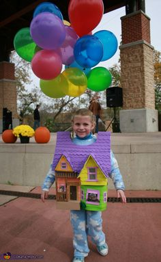 UP! House homemade costume