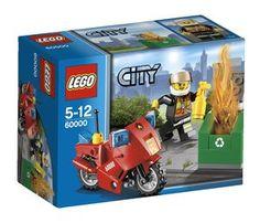 6,99e Palomoottoripyörä Lego City