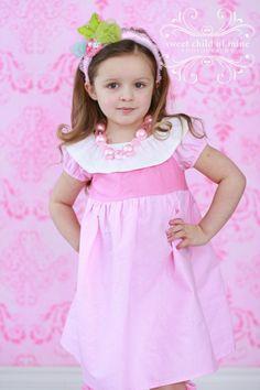 Sleeping Beauty Aurora Disney Princess Dress by Chameleon Girls