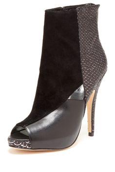 Charles David Kyle Peep Toe Boot on HauteLook Love these!!!