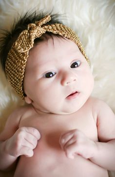 Turban Knot Knitted Headband - knitting PATTERN for newborn, baby, children, teens and adults - pdf format on Etsy, $3.50