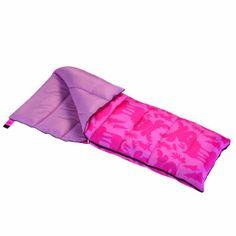 Wenzel Moose Girls 40-Degree Sleeping Bag, Pink:Amazon:Sports & Outdoors