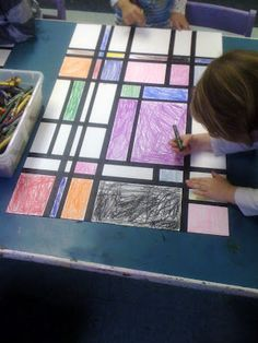 "Matisse Preschool project: Coincide with the book ""When Pigasso Met Mootisse"" by Nina Laden."