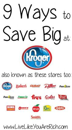 How to Coupon at Kroger/Smith's/Fry's/Ralphs...