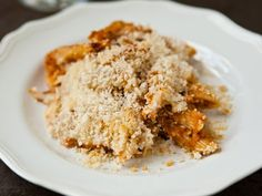 Eggplant Pasta Bake - Blogger Angie McGowan of  Eclectic Recipes brings new life to the fail-proof pasta bake with eggplant, fire-roasted tomatoes and plenty of panko.