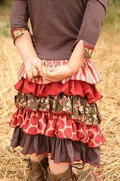 ruffle skirt - for the little girls