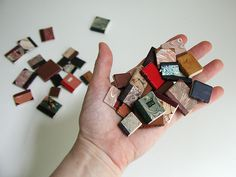 Beautiful mini books by Grace White.