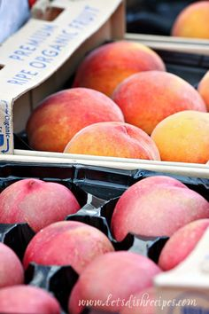 Easy Peach Freezer Jam (Market Monday)