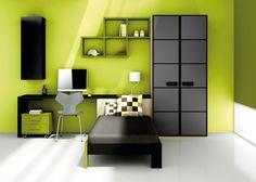 Dormitorios juveniles on pinterest puertas mesas and libros for Habitaciones juveniles japonesas