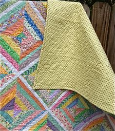 My Quilt Infatuation: This String Quilt Took Muscles!