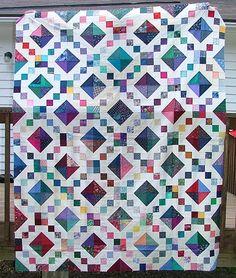 good idea for scrap quilt