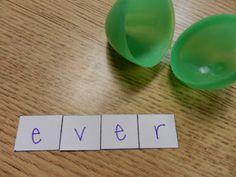 Spelling Center Idea!