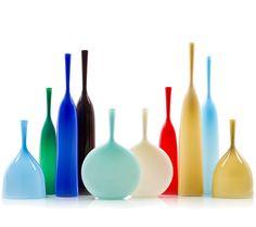 hand-blown glass by Joe Cariati