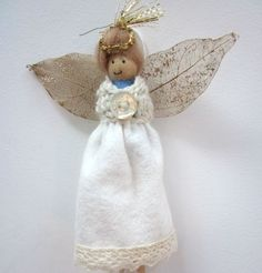 Dolly Peg Dolls and Christmas Angels