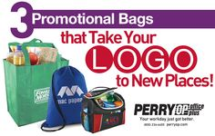 3 Promotional Bags that Take Your Logo to New Places | The Perry Post