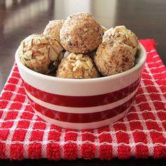 Joyful Almond Energy Bites - healthy, easy snacks! (naturally dairy-free, gluten-free, soy-free, optionally paleo)