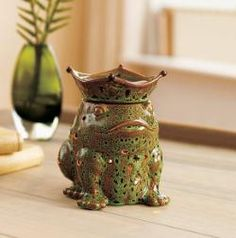 Enchanted Frog Prince LED ScentGlow Warmer by PartyLite Candles, SAVE 45% while supplies last