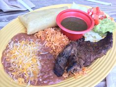 Carne Asada and Chicken Tamale from Cocina Cucamonga - Disney California Adventure