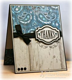 Darling card using the Dakota papers from Close to My Heart!