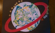 We used shaving cream painting for creating planets. The kids loved it!