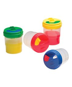 Loving this Nonspill Paint Cup Set on #zulily! #zulilyfinds