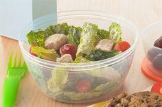 Shake-it-Up Chicken Caesar Salad recipe