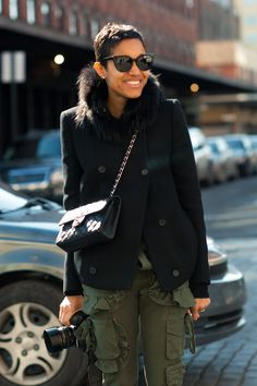 Meet Tamu McPherson, street photographer and Fashion Director at Grazia.it. Sigh. Maybe in my next life.
