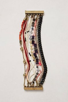 omg, love this... Tempestad Layered Bracelet - anthropologie.com