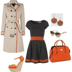 I dont think I wear enough orange viahttp://www.evokingyou.com/fashion/