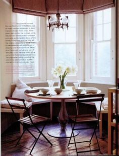 breakfast nook with booth - Google Search