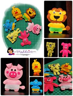free templat, felt projects for kids, fabric craft, free felt templates, felt animals