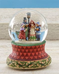 Songs of the Season.. snow globe.  Jim Shore