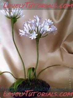 Allium plant making tutorial