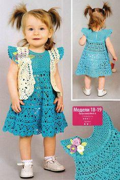Vestido y niñas crochet bolero años para. Descripción de los regímenes. Debate sobre LiveInternet - Servicio rusos Diarios Online