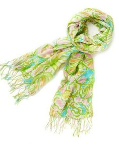 Lilly Pulitzer Murfee Scarf in Elephant Ears
